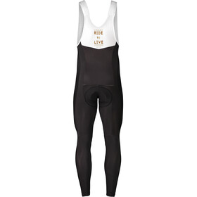 Maloja PushbikersM. WB Heli Bib Shorts Heren, moonless